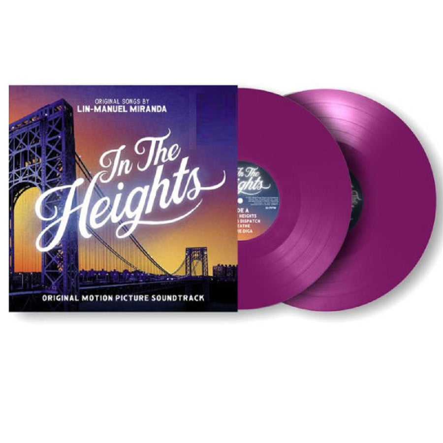In The Heights Official Motion Picture Soundtrack Exclusive Violet 2X LP Vinyl Record