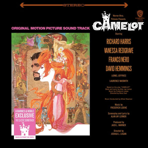 Camelot - Original Soundtrack Exclusive Limited Edition Vinyl [Condition VG+NM]