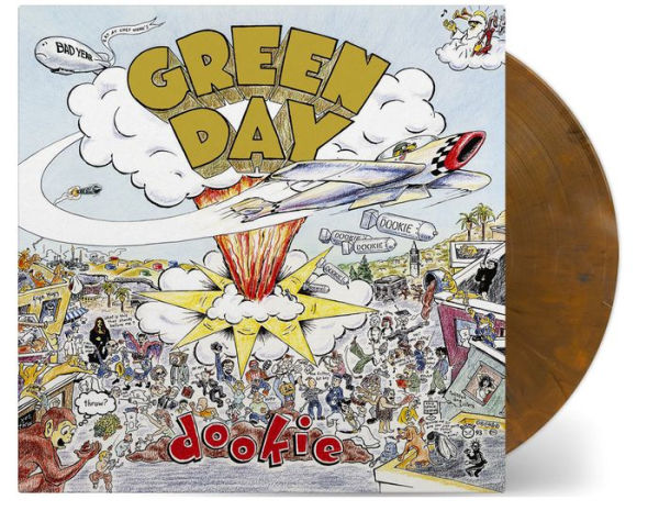 Green Day - Dookie Exclusive Brown Colored Vinyl [VG+/NM]