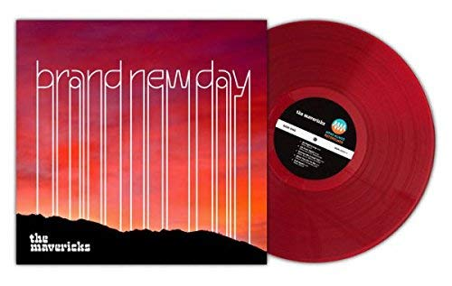 The Mavericks - Brand New Day Exclusive Limited Edition Translucent Red Vinyl [Condition VG+NM]