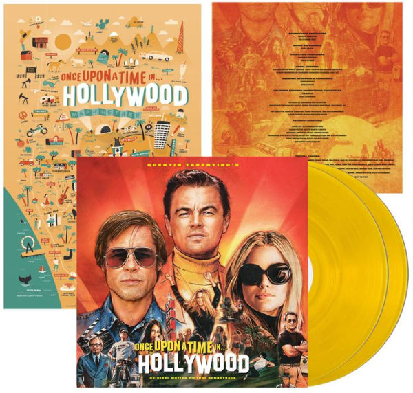 Quentin Tarantino's - Once Upon a Time in...Hollywood Exclusive Yellow Vinyl [Condition VG+NM]