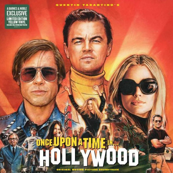 Quentin Tarantino's - Once Upon a Time in...Hollywood Exclusive Yellow Vinyl