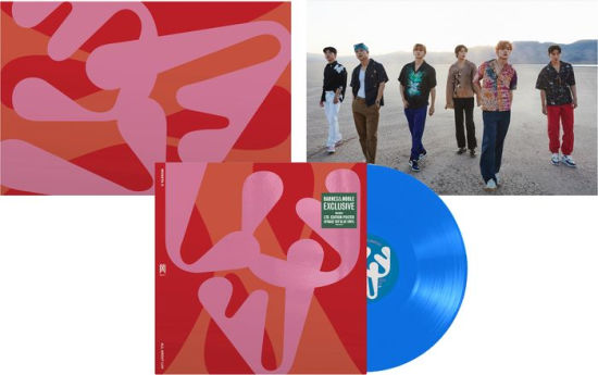 Monsta X - All About Luv Exclusive Opaque Sky Blue Vinyl