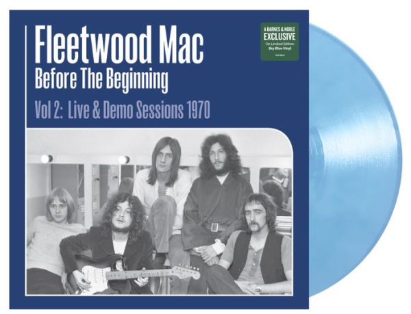 Fleetwood Mac - Before the Beginning 2: Live & Demo Sessions 1970 Exclusive Sky Blue Viny