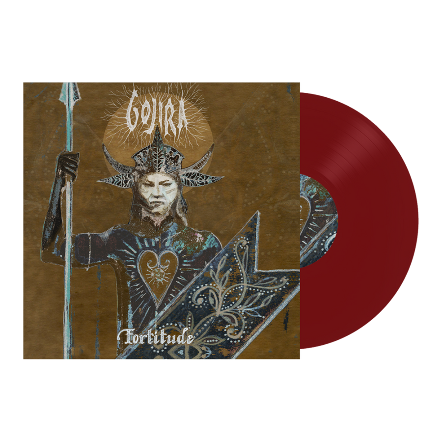 Gojira Fortitude Exclusive Red Color LP Vinyl Record [Spotify Fan First Edition #1000 Copies]