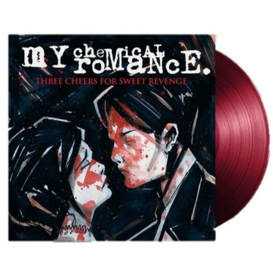 My Chemical Romance - Three Cheers For Sweet Revenge Exclusive Ox Blood Vinyl Album [LP_Record]