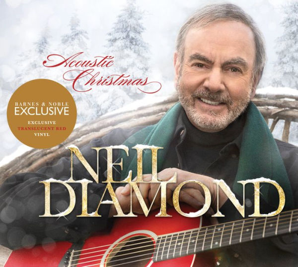 Neil Diamond - Acoustic Christmas Exclusive Translucent Red Vinyl