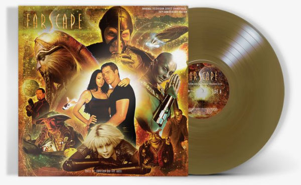 SubVision - Farscape Music from the Original Soundtrack Limited EditionExclusive Vinyl [Condition VG+NM]