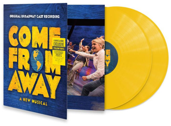 David Hein - Come From Away Exclusive Limited Edition Yellow Vinyl 2xLP