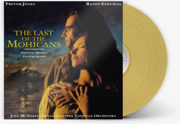 Joel McNeely - The Last Of The Mohicans OST Exclusive Limited Edition Hawkeye Tan Vinyl LP [Condition VG+NM]