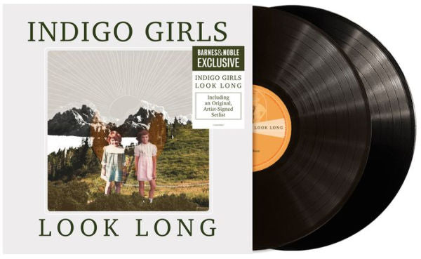 Indigo Girls -Look Long Exclusive Black Vinyl 2LP with Signed Setlist Insert