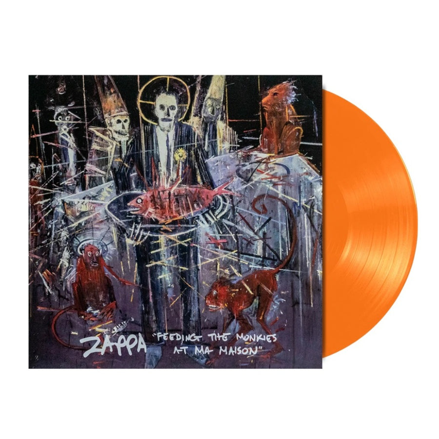 Frank Zappa - Feeding The Monkies At Ma Maison Limited Edition Orange Color Vinyl LP Record Album