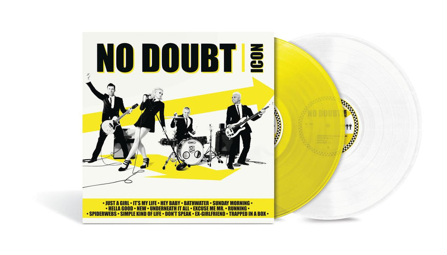 No Doubt - Icon Exclusive Limited Edition Yellow And White Vinyl 2LP_Record