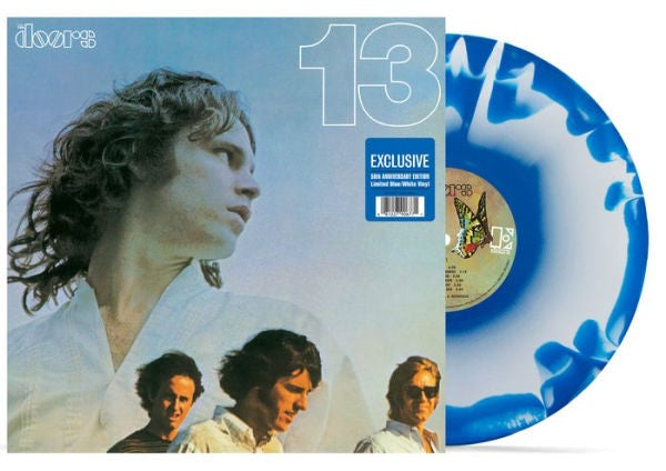 The Doors ‎- 13 Exclusive Blue with white Splatter Limited Edition VInyl LP