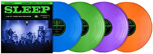 Live At Third Man Records (Exclusive Limited Club Edition Blue/Green/Purple/Orange Colored 4X LP Vinyl Box Set)