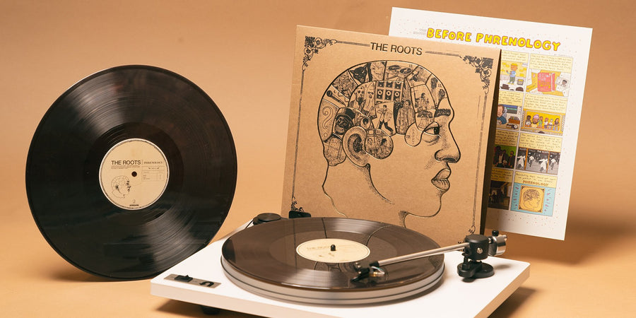 The Roots - Phrenology Exclusive Marbled Brown Vinyl 2x LP Record [Limited Club Edition]