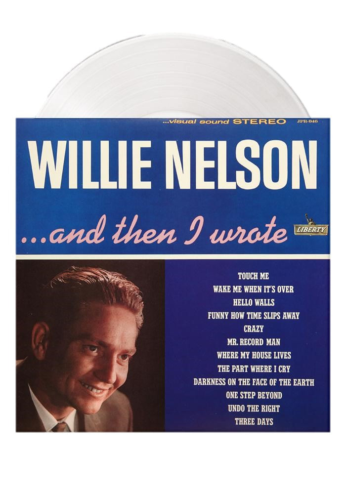Willie Nelson - And Then I Wrote Exclusive Limited Edition Clear Vinyl [LP_Record]