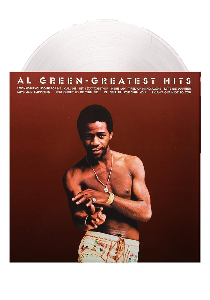 Al Green - Al Green'S Greatest Hits Exclusive Limited Edition Clear Vinyl [LP_Record]