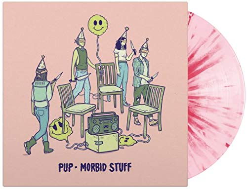Morbid Stuff (Limited Edition Pink With Magenta Splatter Colored Vinyl)