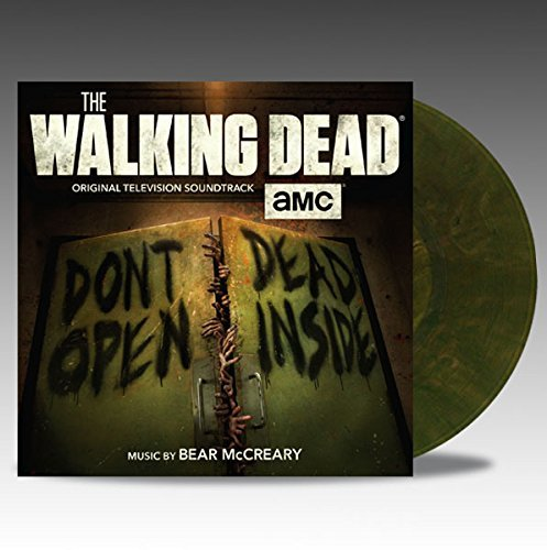 Bear McCreary ‎– The Walking Dead 2 × Vinyl, LP, Album, Limited Edition, Gatefold, Translucent Green