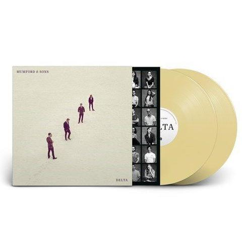 Mumford & Sons - Delta Limited Edition Exclusive Sand Colour Vinyl