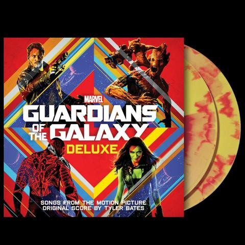 Soundtrack - Guardians Of The Galaxy Vol.1 Deluxe Limited Edition Exclusive Red & Yellow Swirl Vinyl