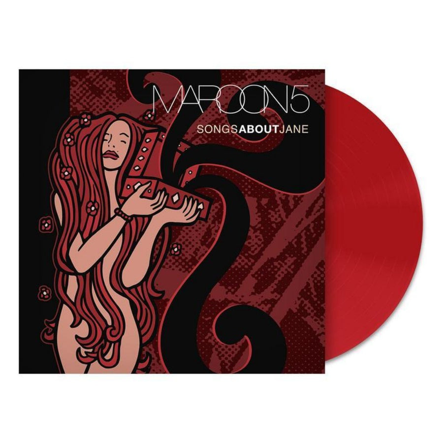 Maroon 5 - Songs About Jane Limited Edition Exclusive Red Vinyl Album LP_Record