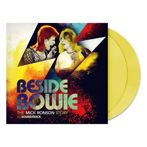 VARIOUS ARTISTS - Beside Bowie: The Mick Ronson Story Limited Edition Exclusive Opaque Yellow Vinyl