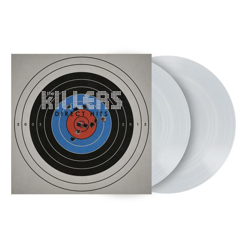 The  Killers - THE Direct Hits Limited Exclusive Transparent Vinyl 2LP