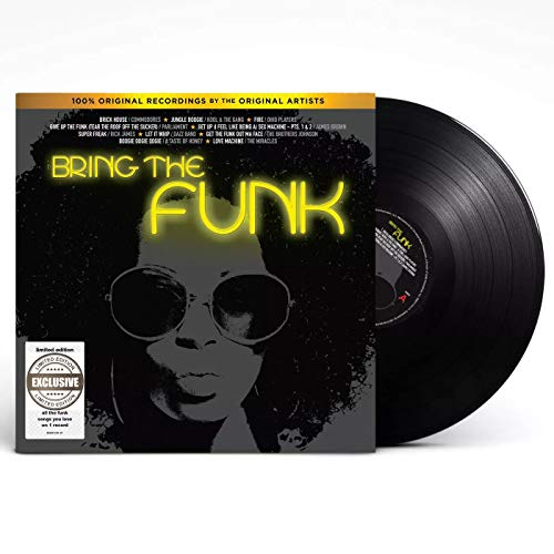 Bring the Funk - Exclusive Limited Edition Black Colored Vinyl LP [Vinyl] Various Artists