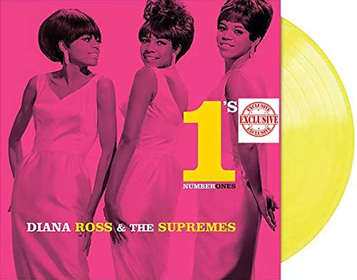 Diana Ross & The Supremes Number 1's - Exclusive Limited Edition Translucent Yellow Colored Vinyl LP [Vinyl] Diana Ross & The Supremes and Various Artists