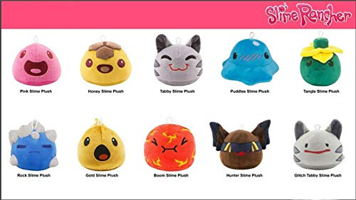 Slime Rancher. Plush Limited Edition Collectors Bundle Pack (10 Slimes Included)
