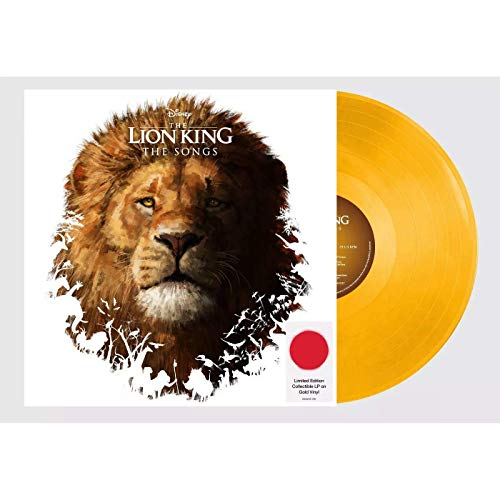 The Lion King (Original Motion Picture Soundtrack) - Exclusive Limited Edition Gold Colored Vinyl LP [Vinyl] Various Artists