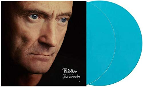 But Seriously Exclusive Limited Edition Turquoise Colored Vinyl 2LP Phil Collins and Various Artists