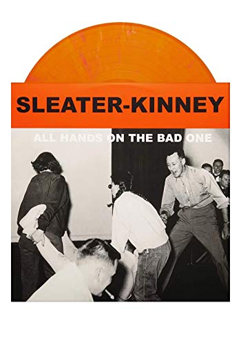 Sleater Kinney - All Hands On The Bad One Exclusive Limited Edition Orange Swirl Vinyl LP [VG+NM]