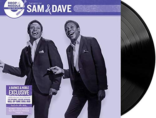 Sam & Dave and Various Artists - Drop the Needle on the Hits The Best of Sam & Dave Exclusive Limited Edition Black Colored Vinyl LP