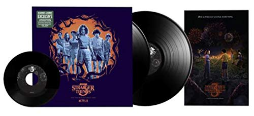 Stranger Things 3: (Music From The Netflix Original Series) - Exclusive Limited Edition Alternate Cover 2x Vinyl LP (Bonus 7