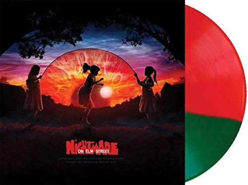Charles Bernstein - A Nightmare On Elm Street (Movie Soundtrack) Exclusive Red And Green Split Vinyl