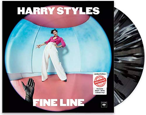 Fine Line - Exclusive Limited Edition Black & White Colored 2x Vinyl LP [Vinyl] Harry Styles and Various Artists