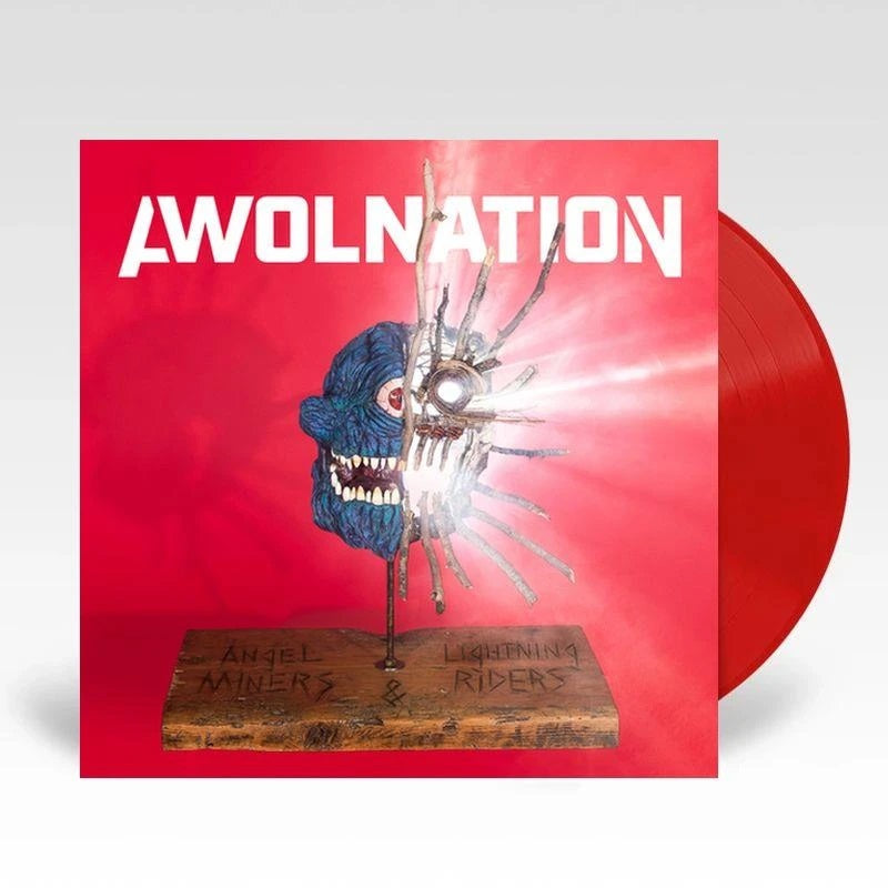 AWOLNATION Angel Miners & The Lightning Riders (Limited Translucent Red Vinyl)