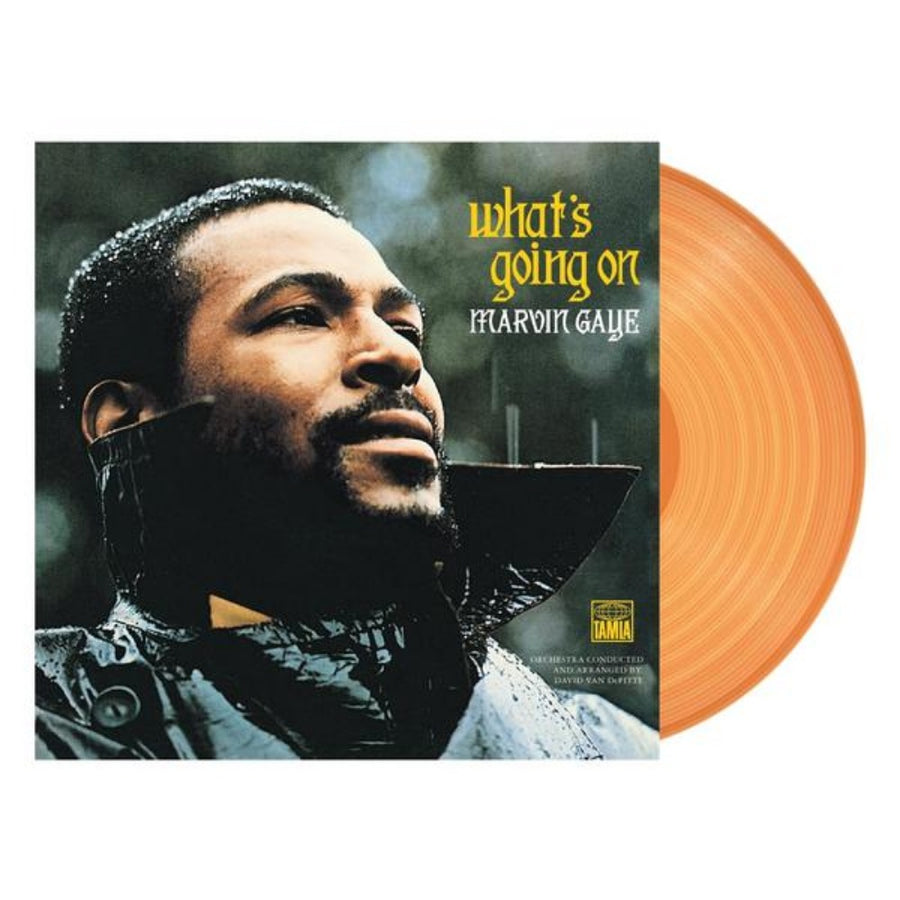Marvin Gaye - What'S Going On Exclusive Sun Yellow Vinyl LP_Record