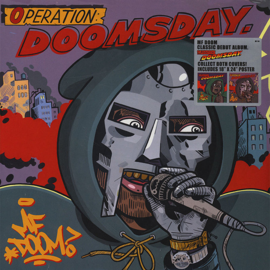MF Doom - Operation: Doomsday Metal Face Cover Edition 2LP Vinyl Record