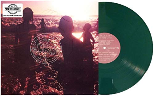 One More Light Exclusive Limited Edition Dark Green Color Vinyl [Condition-VG+NM]