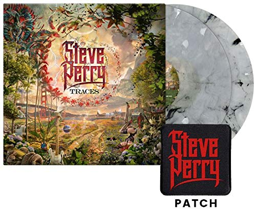 Traces (Limited Edition White Marbled Vinyl w/ Steve Perry Patch)
