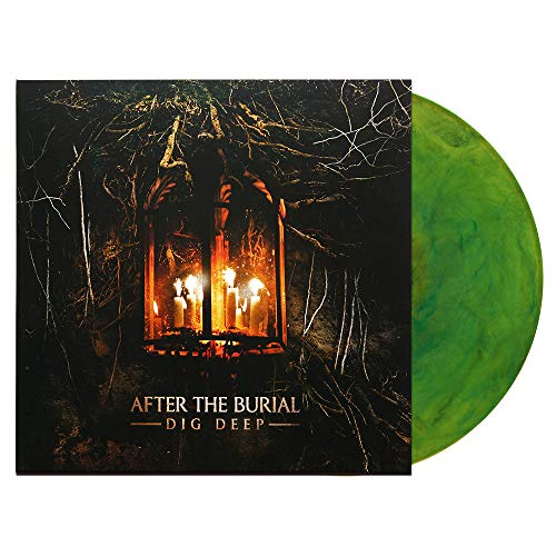 After The Burial - Dig Deep Transparent Green W/ Black Smoke Vinyl LP