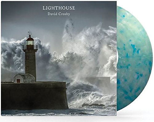 David Crosby Lighthouse | Colored Vinyl Blue