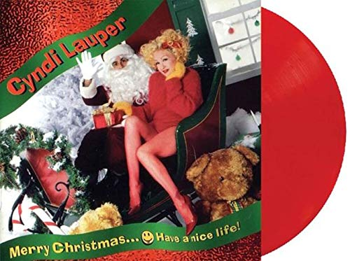 Merry Christmas... Have a Nice Life - Exclusive Limited Edition Red Colored Vinyl LP #/500 [Condition-VG+NM] [Vinyl] Cyndi Lauper and Various Artists