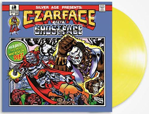 Czarface Meets Ghostface (Exclusive Limited Edition Yellow Vinyl) [Vinyl] Czarface and Ghostface