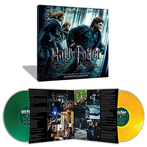 Alexandre Desplat - Harry Potter & The Deathly Hallows Part 1 Exclusive Green and Yellow 2LP Vinyl