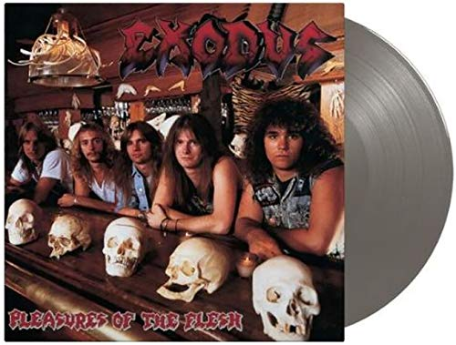 Pleasures of the Flesh - Exclusive Limited Edition Metallic Silver Colored Vinyl LP [Vinyl] Exodus and Various Artists